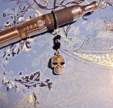 Skull Black Crystal Vape Charm~Vapor Charm E Cig~((Buy 2=Get 1 Free))