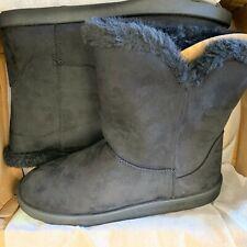 Roebuck & Co. Alexia Boots, Black, Size 9