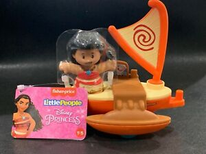 MOANA Fisher Price Little People Disney Float MOANA New With Tags LAST ONE VHTF