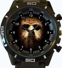Horror Friday The 13 Novelty New Gt Series Sports Wrist Watch FAST UK SELLER