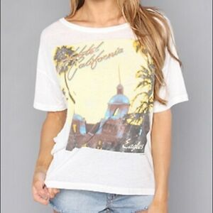"""Eagles """"Hotel California"""" Boxy t-shirt by Chaser Brand 70's Rock  Band Tee"""
