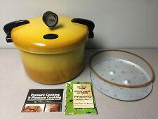 Presto Pressure Cooker 16 Quart Harvest Gold Model 01/CA16H - Vintage Canner