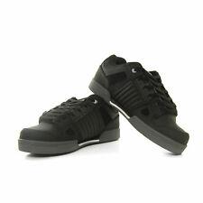 DVS Celsius Skate Shoes Trainers Black Charcoal White Nubuck UK Size 11 - NEW