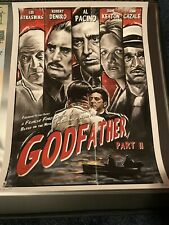 Godfather Part Ii Bruno Illustration Print Ap 5/10 18x24