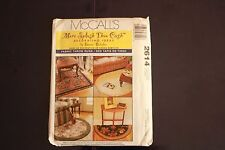McCall's Pattern 2614 Fabric Throw Rugs