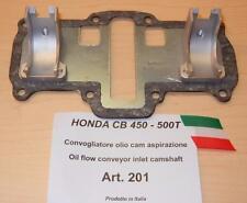 Honda CB450 Cappellini #201 intake camshaft oil flow conveyor reduces cam wear