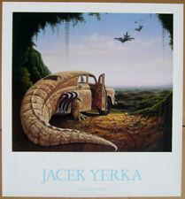 Jacek Yerka ATTACK AT DAWN fine art poster
