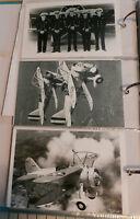 WWII U.S. NAVY  U.S.S. MACON CURTISS BIPLANE AIRPLANES: 3 B&W 4X6 PHOTOGRAPHS 88