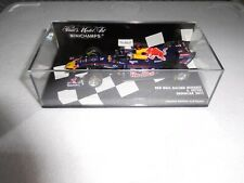 RED BULL RACING 2011 showcar S. Vettel limited edition 3.816pcs minichamps 1.43