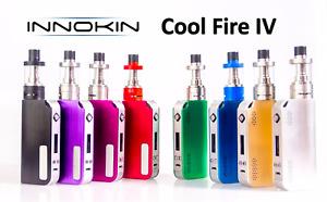 100% Genuine Innokin Cool Fire 4 IV Starter Vape E Cig Kit with 2ml iSub VE Tank