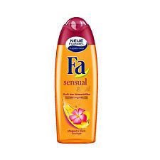 ( 7,96€/ L) 250 ml FA SENSUAL& Aceite monoiblüten Fragancia con Aceite de Argán