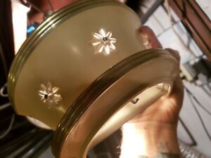 6 Matching Art Deco Half Round Sconces Star Motif machine age MCM aluminum M/O