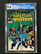 Kitty Pryde and Wolverine #6 CGC 9.6 (1985)