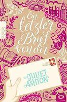 Ein letzter Brief von dir von Ashton, Juliet | Buch | Zustand gut