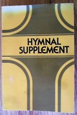 Hymnal Supplement 1984 Agape 130 Christian Hymns w/Music and Text