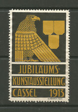 Germany/Cassel (Kassel) 1913 Anniversary Ary Exhibition poster stamp/label