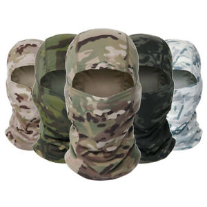Outdoor Ski Cycling Full Face Neck Head Cover Camouflage Tactical Balaclava