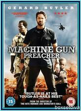 MACHINE GUN PREACHER -Gerard Butler & Michelle Mona   **BRAND NEW DVD  **