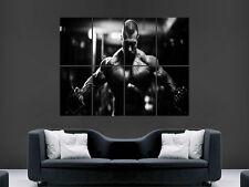 POSTER Bodybuilding Palestra Muscoli Allenamento Fitness WALL ART PICTURE PRINT