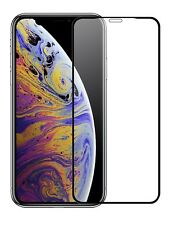 iPhone Xs MAX Screen Protector -3D Curved Edge - [Full Coverage] Tempered Glass