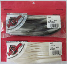 "2 - Bass Assassin Shad Assassin - 5"" - 10ct - Black Shad & Alewife"