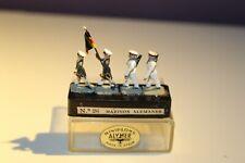 ALYMER Miniploms nº 26. Soldados de plomo. 20mm (1:87). Marinos alemanes