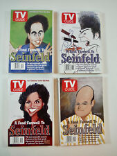 LOT 4 COLLECTIBLE TV GUIDES Complete 1998 FAREWELL TO SEINFELD Jerry Kostanza et
