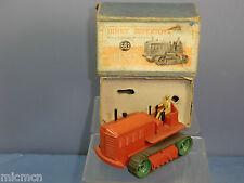 DINKY SUPERTOYS modello No.563 vibrofinitrice Knox Trattore Pesante (Arancione) VN Nuovo di zecca con scatola