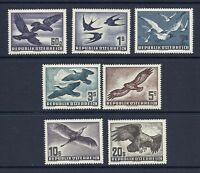 AUSTRIA 1950-3 BIRDS AIRMAILS set VF/XF MNH *read desc*
