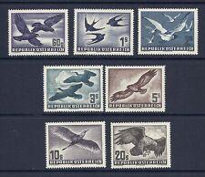 AUSTRIA 1950-3 BIRDS AIRMAILS set VF/XF MNH *read desc*