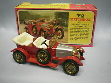 MATCHBOX MODELS OF YESTERYEAR Y-2 1914 PRINCE HENRY VAUXHALL