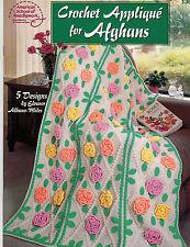 Crochet: Crochet Applique' for Afghans - 5 Designs