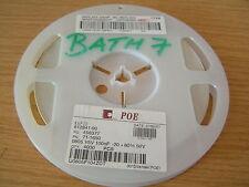 POE superficie Ceramica Condensatore 0805f104z500ct 100nF 50V -20 + 80% 100pcs ol0490