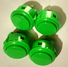 Green Sanwa arcade button OBSF-30 set of 4