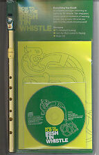 Faedog Learn to Play IRISH Tin Whistle Music Book CD & Instrument Triple Pack