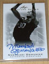 2012 Leaf Signature Series Basketball autograph rookie Nnemkadi Ogwumike B/W SSP
