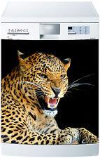 Adesivo lavastoviglie decocrazione cucina elettrodomestici Leopardo ref 625