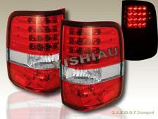 2004 2005 2006 2007 2008 FORD F-150 LED RED CLEAR TAIL LIGHTS
