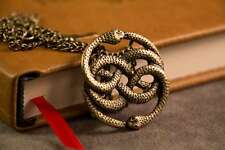 Auryn Necklace Pendant Gold  (Inspired by The Neverending Story)