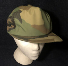 Vintage 80s 90s GORE-TEX Camo SNAP BACK Hat Cap By Mad Hatters Inc. RARE