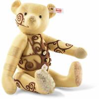 F/S Steiff Designers Choice Gustav Teddy Bear Limited 500 Silk RARE