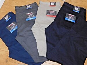 Kirkland Signature Men's 5 Pocket Brushed Cotton Straight Leg Casual Pant BNWT