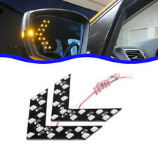 2x 14SMD LED Car Rear View Lamp Side Mirror Arrow Panel Turn Signal Light