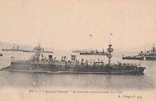 Carte Postale ancienne du Bateau Militaire L'Amiral Charner