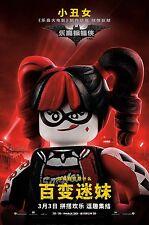 THE LEGO BATMAN MOVIE MANIFESTO POSTER ANIMAZIONE
