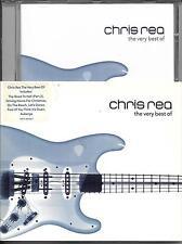 CD AVEC FOURREAU CHRIS RÉA THE VERY BEST OF 2001 EUROPE TBE