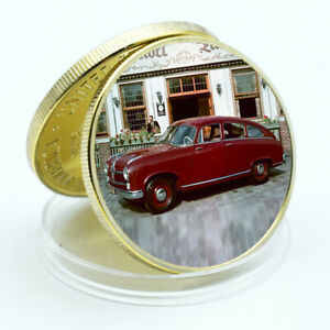 Festival Souvenir Gifts Vintage Car Gold Coin American Metal Coin Birthday Gifts