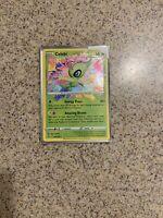 Celebi Amazing Rare Pokemon Card Vivid Voltage 009/185 NM - Pack Fresh