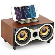 Mp3 & Mp4 Player Accessories Desktop Wooden Wireless Bluetooth Portable Speaker