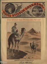 Hans Stosch Sarrasani Fahrten und Abenteuer Heft 71 Rätsel der Pyramide Al-ret